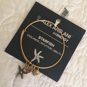 Alex and Ani NWT STARFISH BRACELET